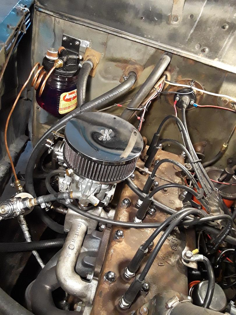 Ampco Installation on a '39 Plymouth Coupe