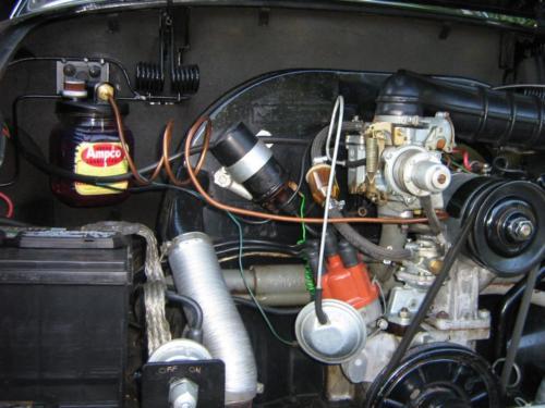 Ampco installation on  1969 Karmann Ghia